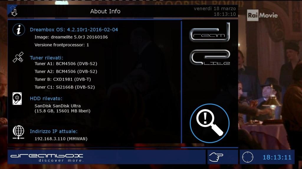 IMAGES] DreamElite 6 0 for DM920 – ENIGMA2