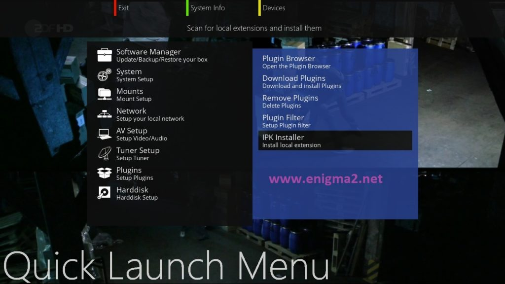 TUTORIAL] How to install NCAM on OpenATV – ENIGMA2