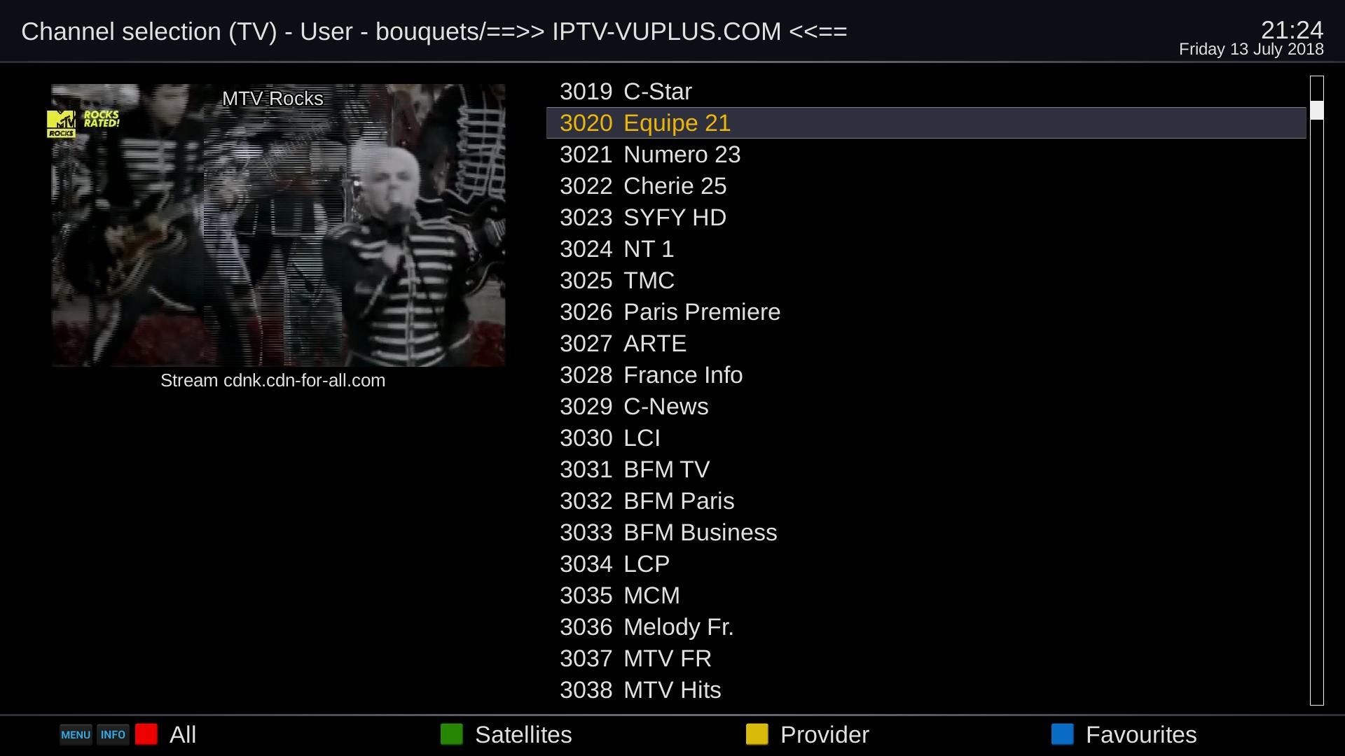 TUTORIAL] How to install IPTV on OpenPLi – ENIGMA2