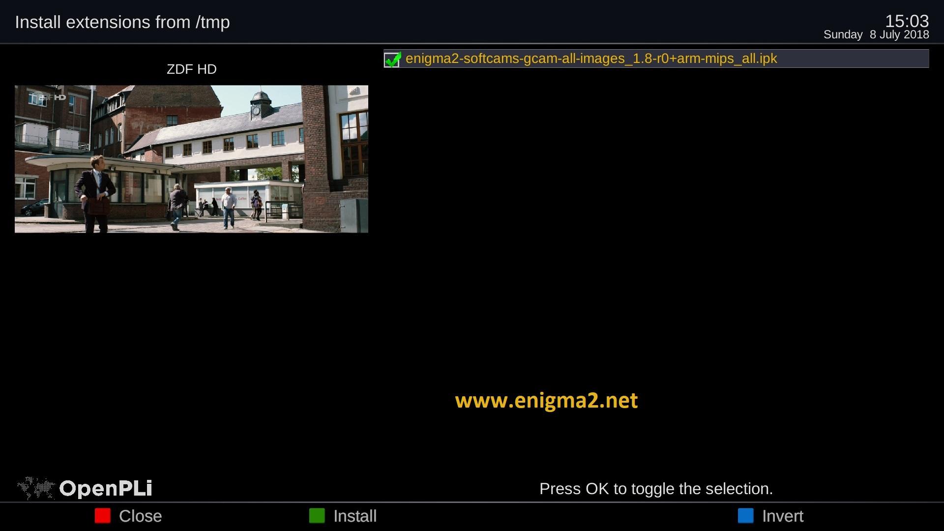 Enigma2 Ipk