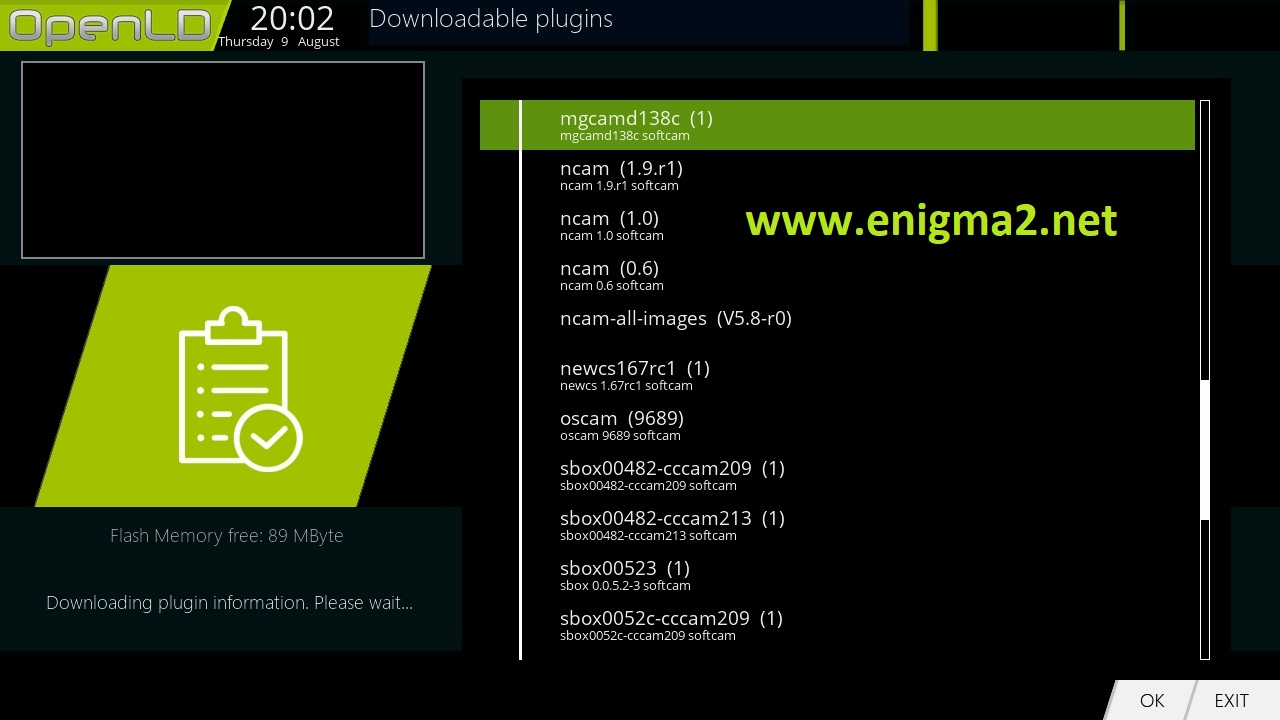 TUTORIAL] How to install and configure MGCAMD on OpenLD – ENIGMA2