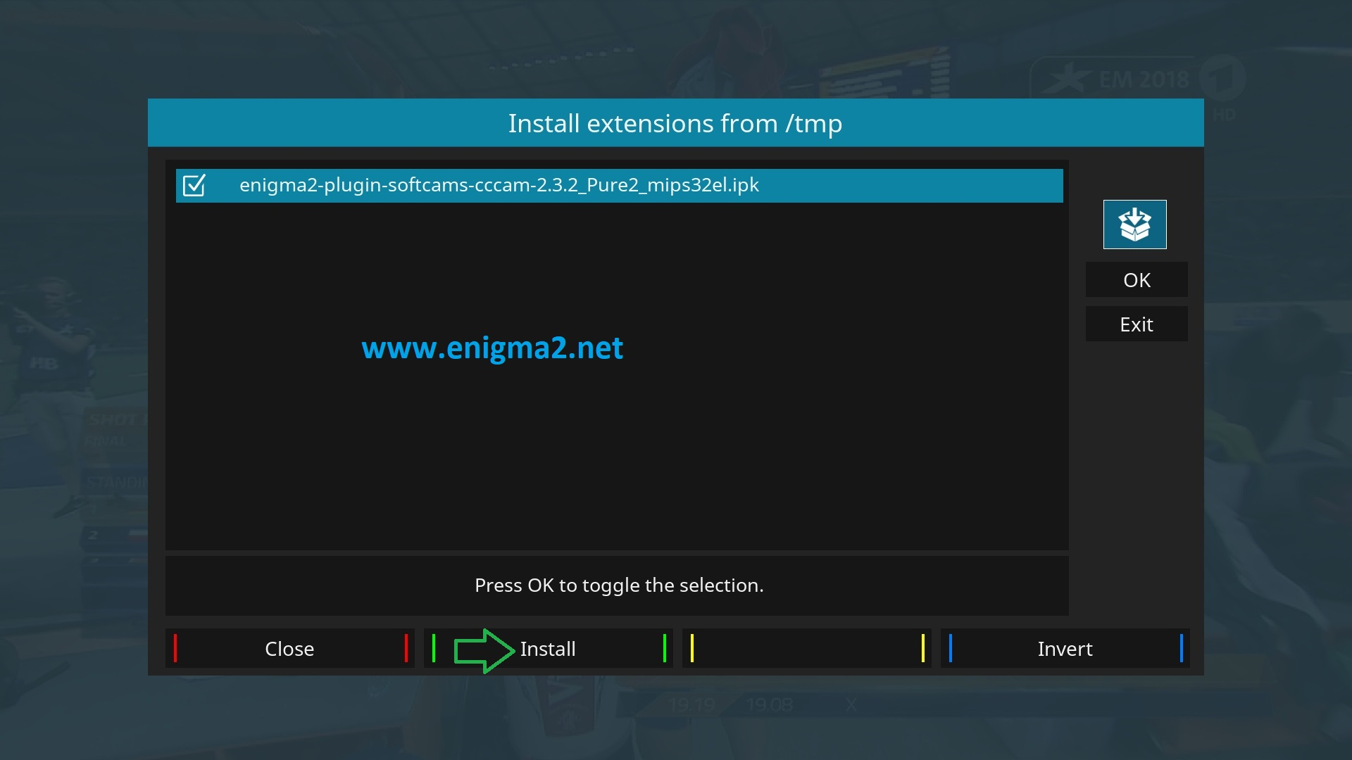 TUTORIAL] How to install and configure CCCAM on PureE2 – ENIGMA2