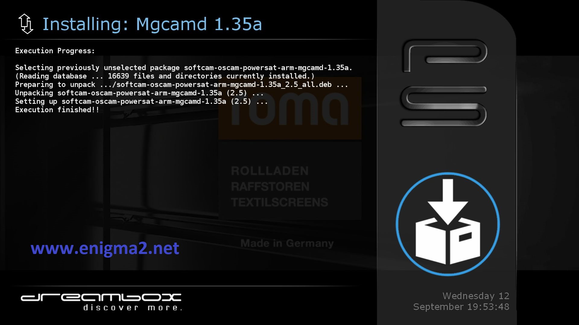 TUTORIAL] How to install MGCAMD on PowerSat – ENIGMA2
