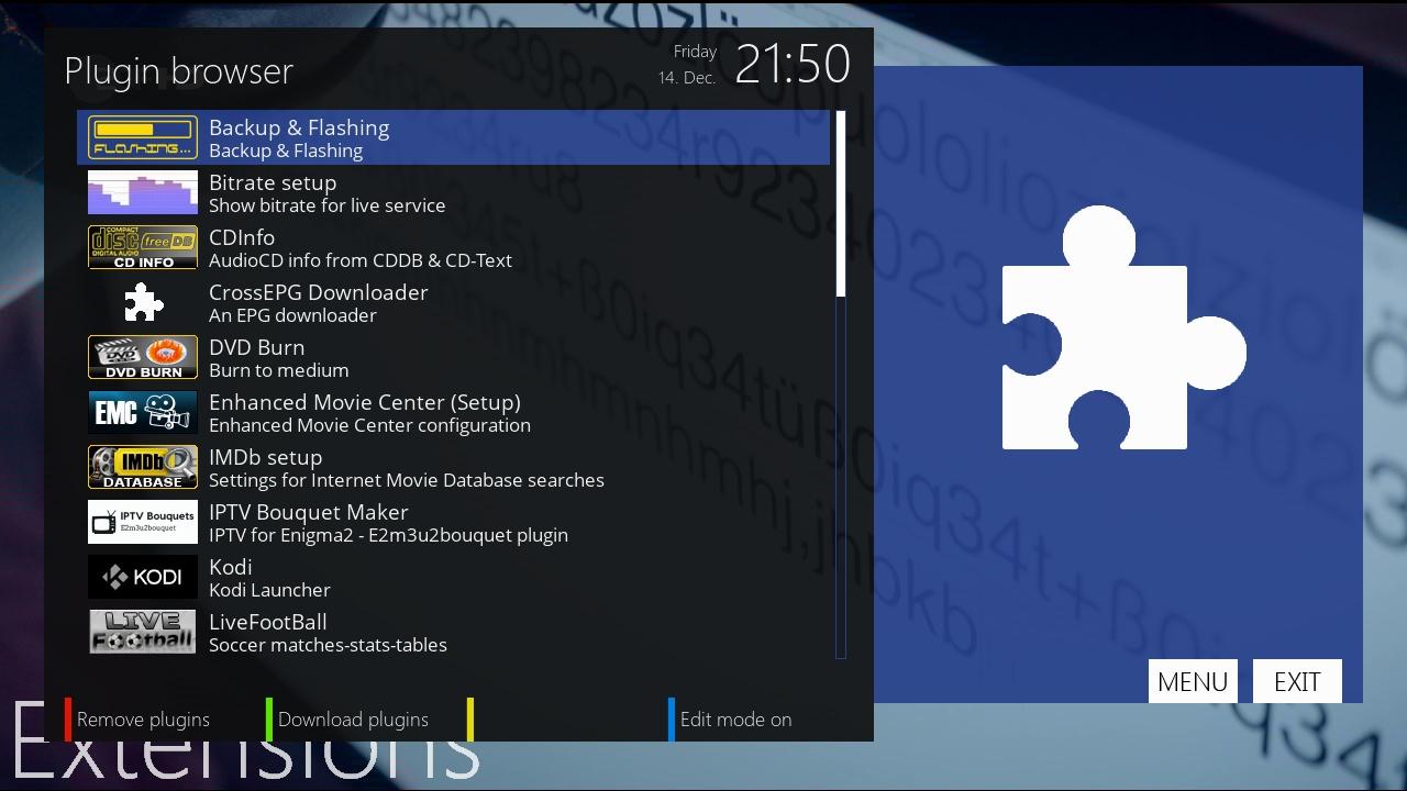 BACKUP] OpenATV 6 3 for DREAMBOX 900 UHD (enigma2 net TEAM