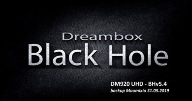 [IMAGE] Black Hole 5.4 for DM920 UHD