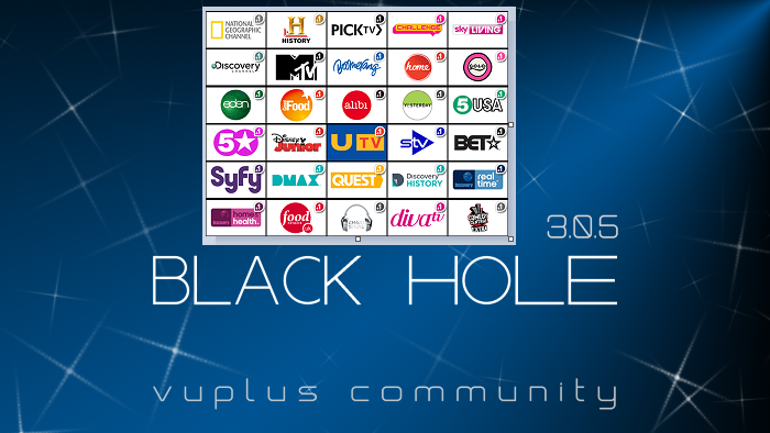 TUTO] How to install and configure picons on BLACK HOLE – ENIGMA2
